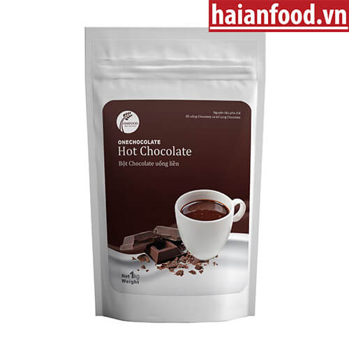 Bột Hot Chocolate Onechocolate - Bột Socola Túi 1Kg