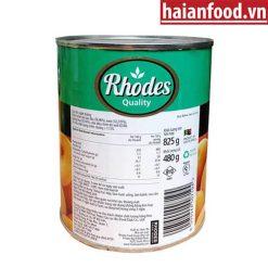 Đào Rhodes Ngâm Siro
