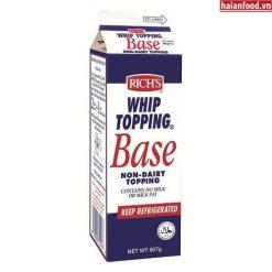 Kem Base (Rich's whip topping base)