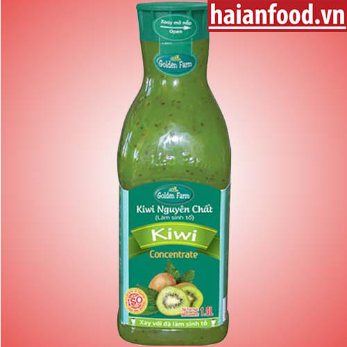 sinh tố kiwi golden farm