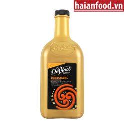 Sốt caramel muối Davinci chai 2L