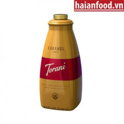 sốt Caramel torani chai 1.89l