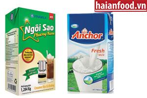 Sữa đặc & Sữa Tươi