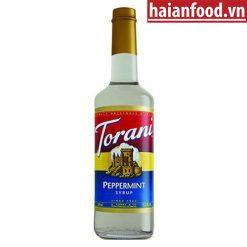 Syrup bạc hà trắng Torani