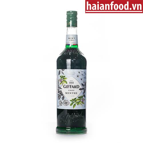 Syrup Bạc Hà Xanh Giffard Chai 1000ml