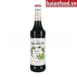 Syrup bạc hà xanh Monin