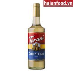 Syrup bánh pho mai Torani
