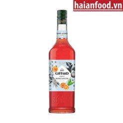 Syrup Cam Đỏ Giffard Chai 1000 ml
