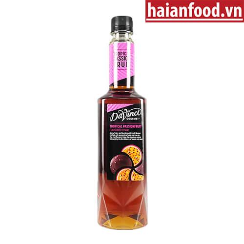 Syrup Chanh Dây Davinci Chai 750ml