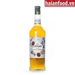 Syrup Chanh Dây Giffard Chai 1000 ml