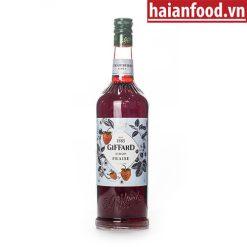 Syrup Dâu Giffard Chai 1000 ml