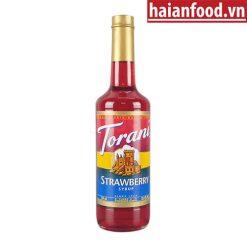 Syrup dâu Torani chai 750ml