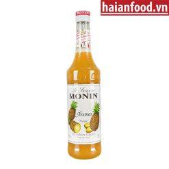 Syrup Dứa Monin Chai 700ml