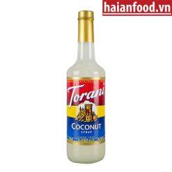 Syrup Dừa Torani Chai 750ml