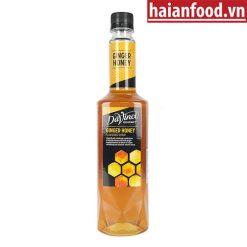 Syrup Gừng Mật Ong Davinci Chai 750ml