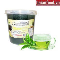 thạch trà xanh agar