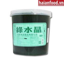 thạch trà xanh maulin