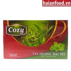 trà cozy bạc hà