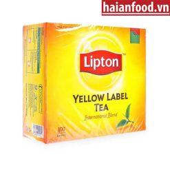 Trà Lipton nhãn vàng hộp 100 túi lọc
